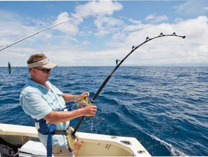 Отправиться на рыбалку в море на моторной яхте