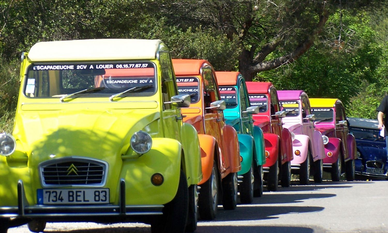 «Ретро-Ралли»  На культовых машинах Франции – Ситроен 2CV