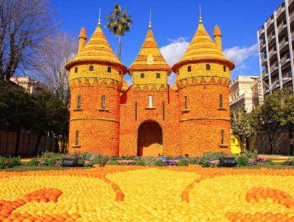 Праздник лимонов в Мантоне